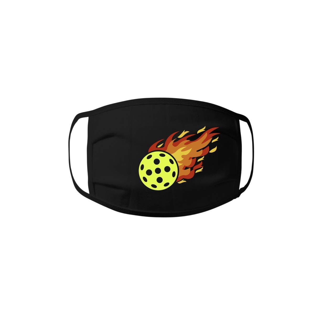 Face Mask - Import Pickleball Flame Store 100% Jersey Unis cotton