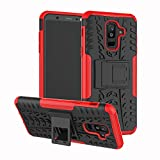 COTDINFOR Samsung Galaxy A6 Plus 2018 Case PC + TPU Tire