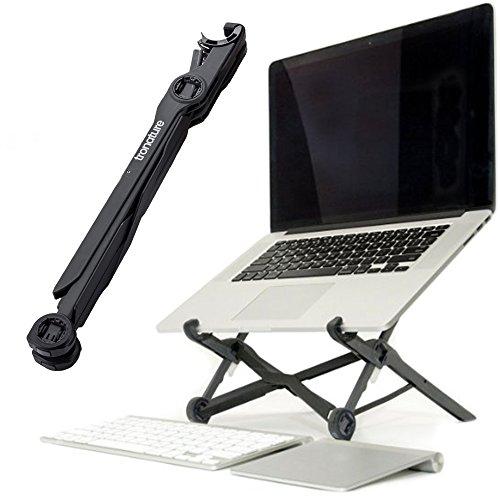 Tronature Universal Laptop Ständer höhen-verstellbar - Faltbarer Laptop Stand für 13, 15, 17 Zoll - Mobiler Laptopständer für Apple MacBook Pro Air, Notebook - Laptop Halterung, Notebookständer