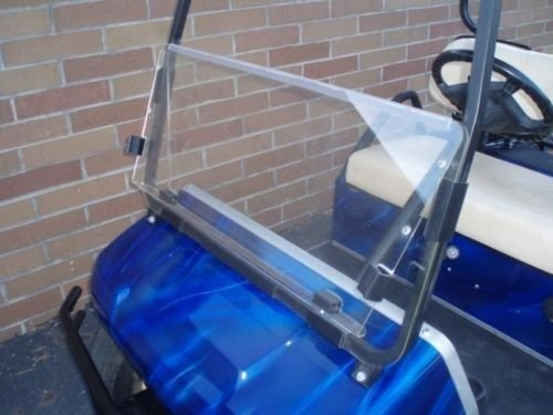 Franklin Sports Clear Windshield for Club Car DS Golf Cart for Years 2000+