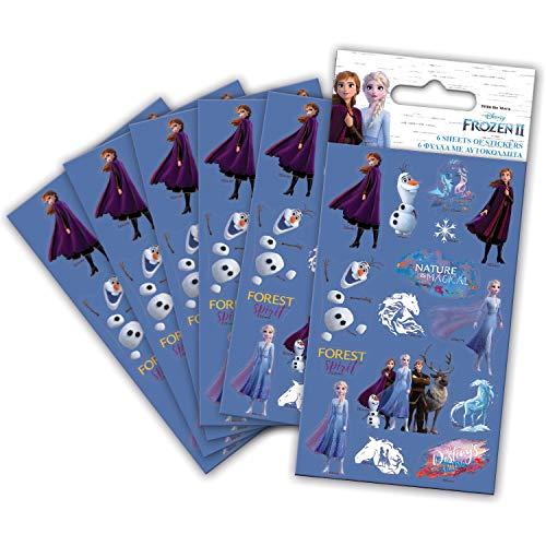 Paper Projects 9124394 - Pegatinas (2 unidades), diseño de Frozen