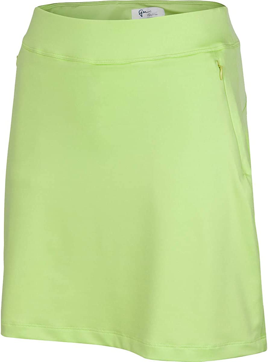 Greg Norman Cheap mail order Max 83% OFF sales Women's Flounce Skort Pull-on