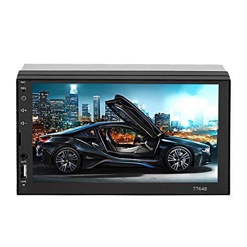 7-inch auto video touch MP5-speler GPS-navigatie Bluetooth autoradio met 2 din-schermen HD MP5-speler met draadloze afstandsbediening FM-radio, ondersteunt het afspelen van audio video afspelen