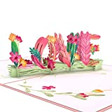Lovepop Floral Love Pop Up Card - 3D Card, Greeting Card, Valentines Day Card, Anniversary Card, Card for Wife, Romance Card, Card for Mom