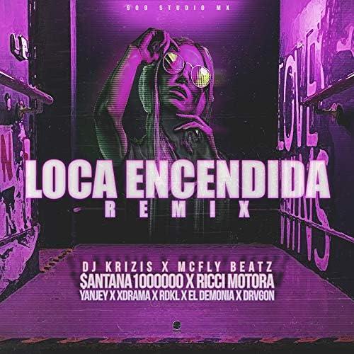 Dj Krizis & Mcfly Beatz feat. Ricci Motora, $antana1000000, Yanjey, Xdrama, RDKL, El Demonia & Drvgon