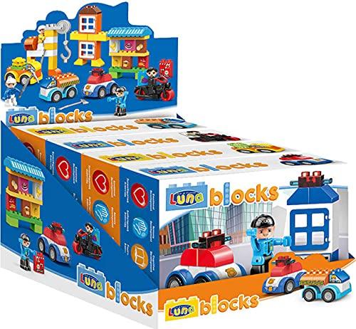 Luna Blocks Steckbaustein-Set 83-TLG. 4...