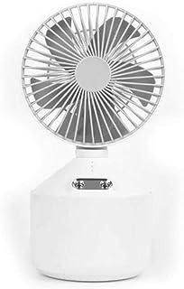 MTBH Ventilador de humidificación, Aire Acondicionado pequeño y Creativo, Tanque de Agua de Gran Capacidad, batería Grande Que se Puede Usar continuamente Durante 13 Horas