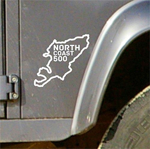 Terra Nomade North Coast 500 NC500 Aufkleber