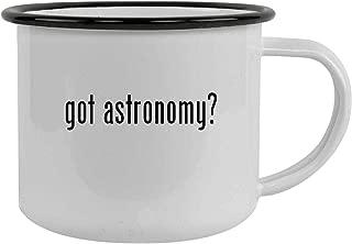 got astronomy? - 12oz Stainless Steel Camping Mug, Black