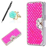 Uposao Housse Samsung Galaxy Note 8 Coque Bling Gliter Sparkle Paillette Diamants Coque en Cuir PU...