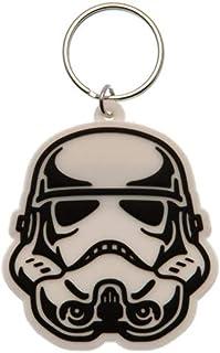 Star Wars Schlüsselanhänger aus Gummi, Mehrfarbig, 4.5 x 6 cm