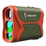 Visiocrest A-3280-GO Laser Range Finder for Golf, Hunting & Archery Precision, 3000FT Distance Measuring Rangefinder