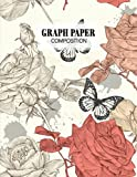 Graph Paper Composition Notebook: Grid Paper Notebook, Quad Ruled With Vintage Cover Design   100 Sheets, Size 8.5' x 11' by Rafael Linke