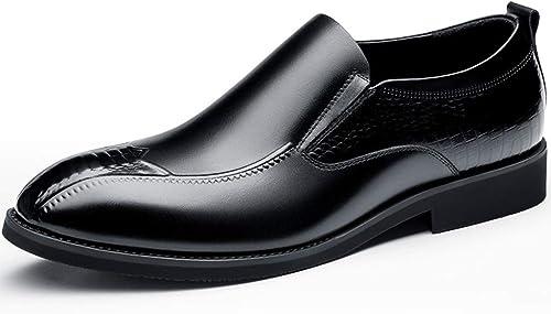 ChengxiO 2019 Calzado de Hombre Calzado Formal de Hombre Calzado de Hombre de otoño Calzado Casual de Hombre de otoño Marea (Color   negro, Tamaño   37)
