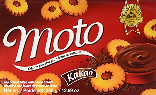 Karolina Moto Kakao Keks mit Füllung (1 x 360 g)
