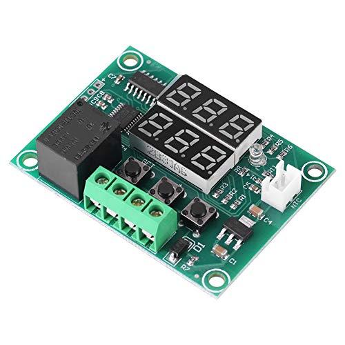 LONGWDS Relay DC 12V Dual LED Digital Display Temperatura del Interruptor Controlador de Sensor Módulo de relé Termostato
