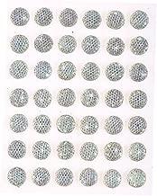 "4 x Self Adhesive Crystal Diamante ""Dove"" Gem Stickers 55 x 42mm Craft Paper"