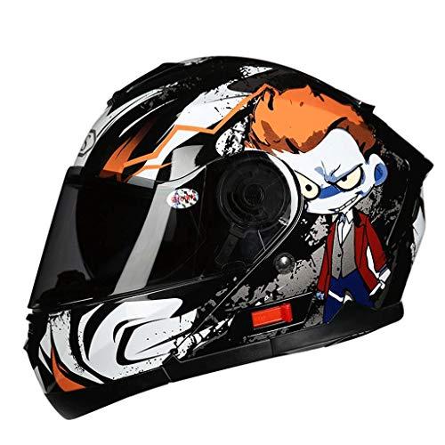 Sooiy Casco de Bicicleta aerodinámicaABS diseño Casco Material de la Motocicleta Casco...
