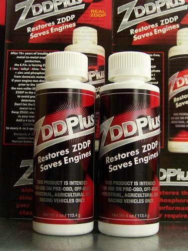 ZDDPPlus ZDDP Engine Oil Additive Zinc & Phosphorus 2 Bottles