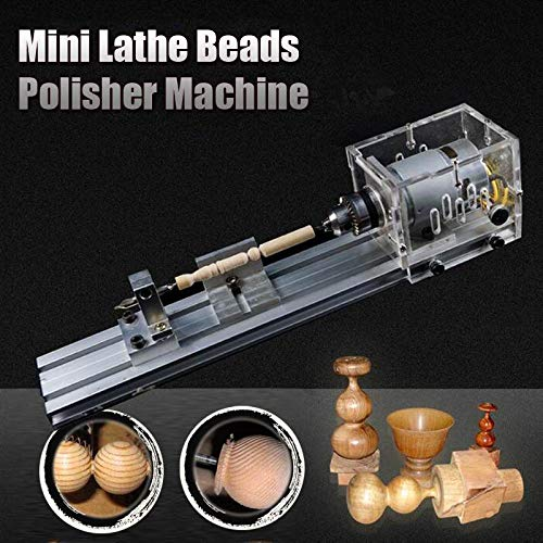 Review Of Costiana - 24V 80W DIY for Mini lathe machine tools DIY Woodworking Buddha Pearl Grinding ...