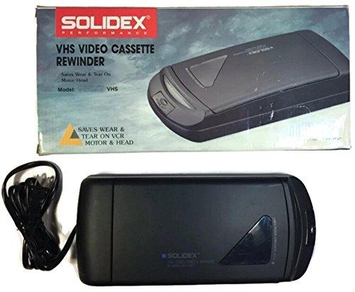 Solidex 938XT VHS Video Cassette Rewinder