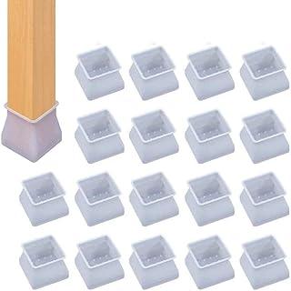 1.8-2.9CM patin de chaise,patin silicone chaise,emp/êche les rayures et le bruit 32PCS; S