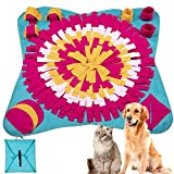 Veaoiy Snuffle Mat Tapis Snuffle Chien Pliable Lavable en Machine Formation Foraging Alimentation Interactif
