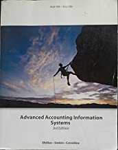 Advanced Accounting Information Systems 3rd Edition