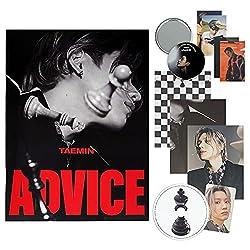 SHINEE TAEMIN The 3rd Mini Album - [ ADVICE ] CD + Photobook + Lyrics Book + Envelope + Postcard + Folded Poster(On Pack) + Photocard
