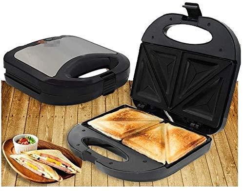 GJJSZ Sandwichera de Acero Inoxidable,220V 750W,Control de Temperatura Fresco,Seguro al Tacto y ansioso-Constante,sandwichera20 xiao1230