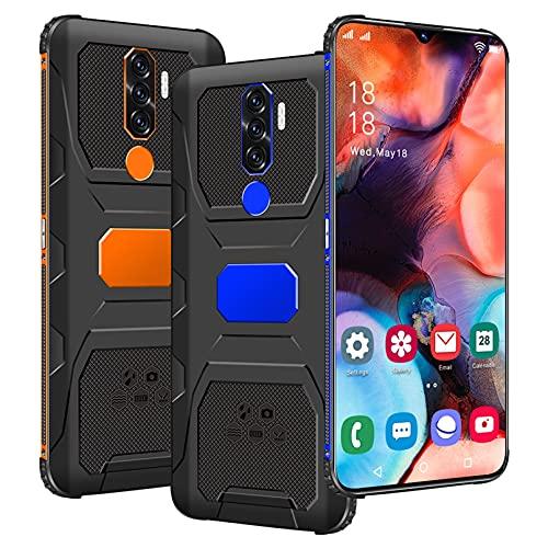 Teléfono móvil Gratuito, teléfonos Inteligentes Baratos N1, 4 GB de RAM, 64 GB de ROM (128 GB SD), teléfono Inteligente Gratuito, Pantalla de 7.0 Pulgadas, 4G Android 11.0 Dual SIM, identificación f