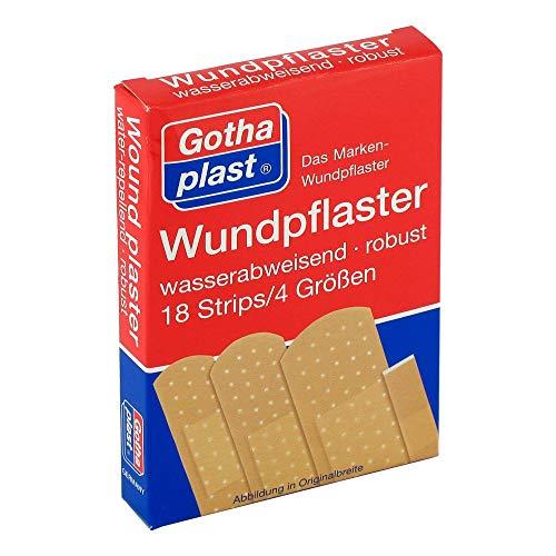 GOTHAPLAST Wundpfl.wasserfest 4 Größen 18 St