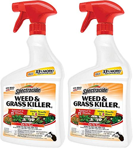 Spectracide Weed & Grass Killer (Ready-to-Use) (HG-96428) (32 fl oz) (Pack of 2)