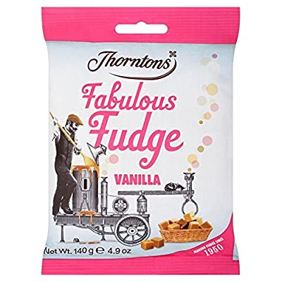 thorntons - fabulous fudge - vanilla - 140g by thorntons Thorntons – Fabulous Fudge – Vanilla – 140g by Thorntons 51Hhih8D dL