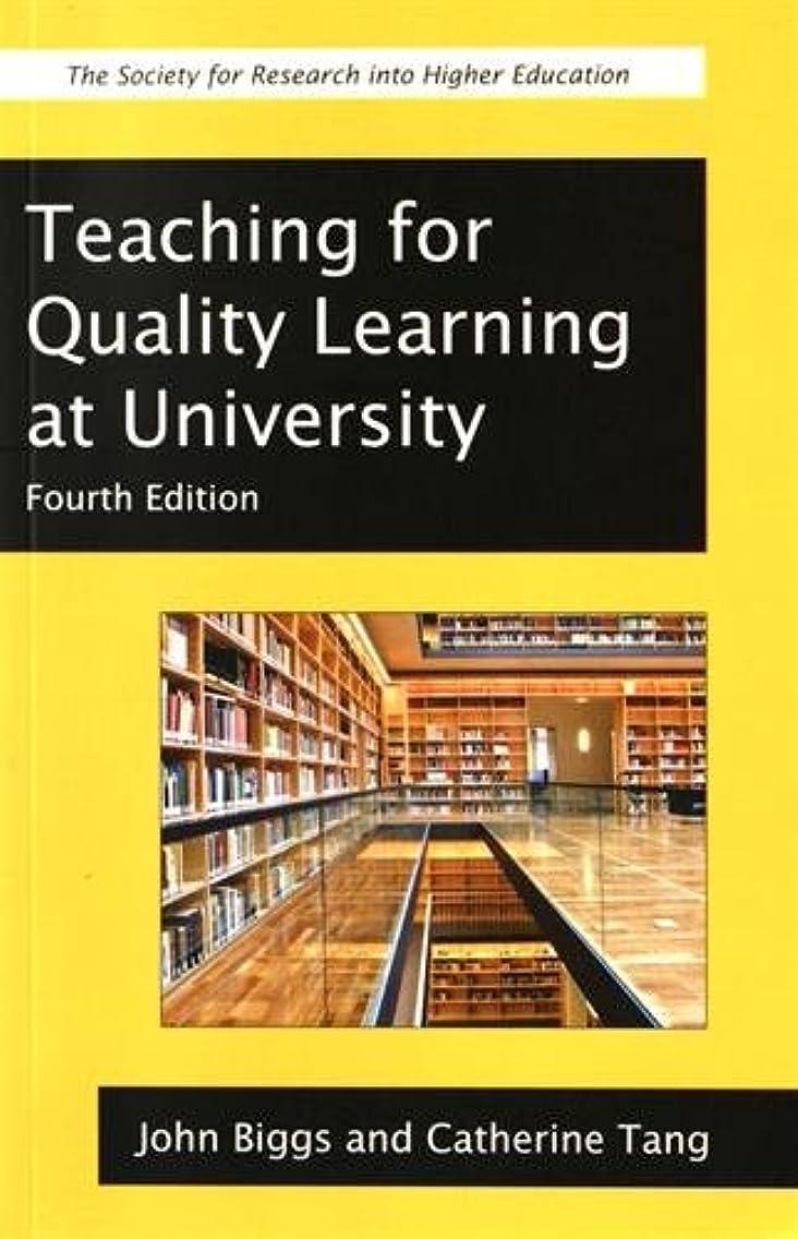 重量連邦びっくりするTeaching for Quality Learning at University (Society for Research into Higher Education)