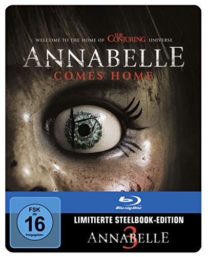 Annabelle 3 Steelbook [Blu-ray] [Limited Edition]