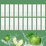 プルームテックプラス互換 カートリッジ グリーンアップル味 メンソール感 蒸気量たっぷり 液漏れ防止 20本セット