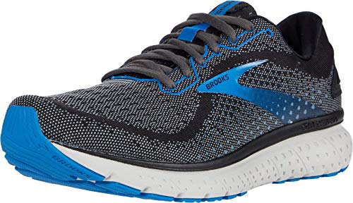 Brooks Men's Glycerin 18, Black/Blue, 9 Medium