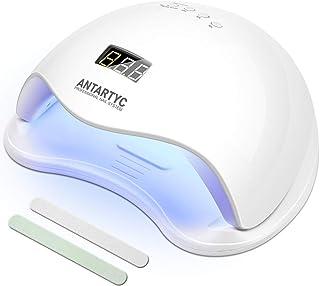 CCHOME Lámpara Led Uñas UV LED Curado de Esmalte de Gel Secador de Uñas Rápido con Función de Temporización 48w- 10S / 30S / 60S / 90S