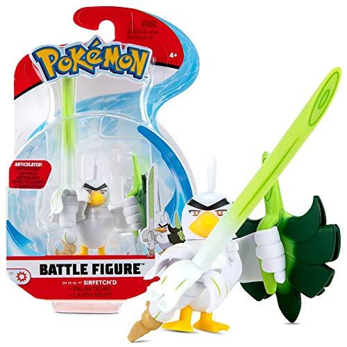 Auswahl Battle Figuren | Pokemon | Action Figur | Spiel-Figur zum Sammeln, Spielfigur:Lauchzelot