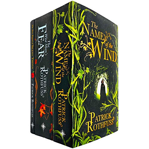 The Kingkiller Chronicle Series 3 Books Collection Set by Patrick Rothfuss (The Name of the Wind, The Wise Man's Fear & The Slow Regard of Silent Things)