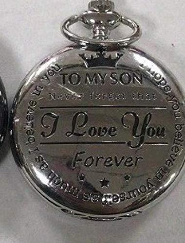 Nwarmsouth Reloj Tipo Enfermera Cuarzo,Reloj de Bolsillo para joyería navideña, Reloj de Bolsillo de Cuarzo Vintage, Plateado,Enfermera Clip Reloj De Bolsillo