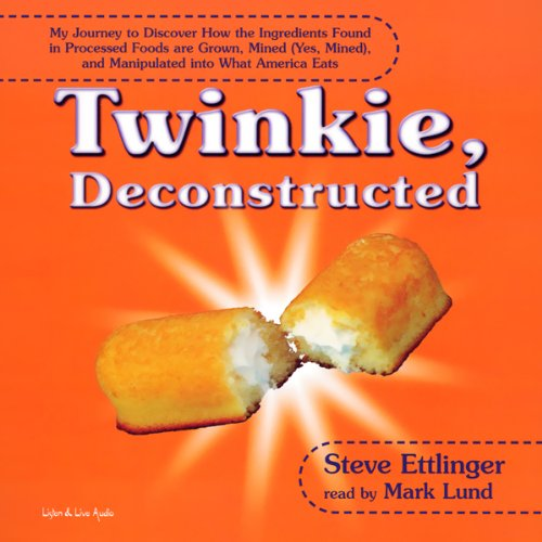 Twinkie, Deconstructed audiobook cover art