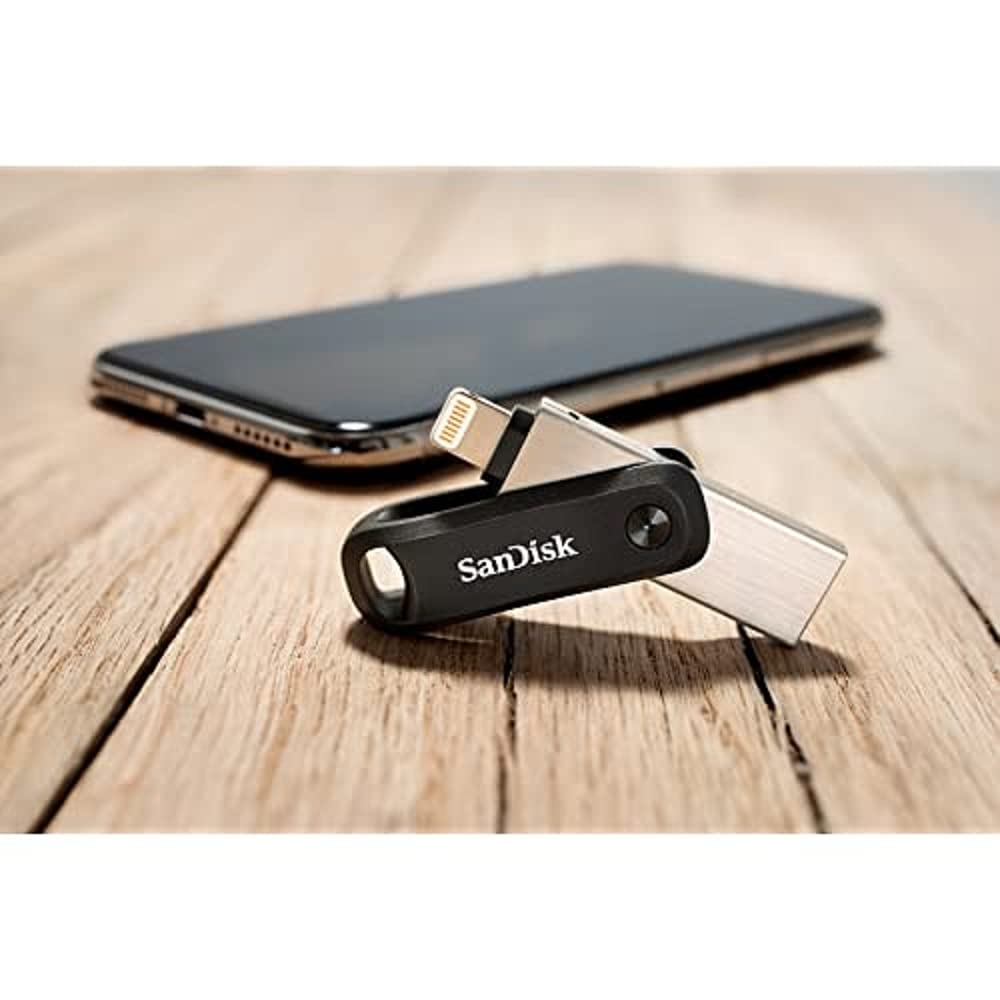 SanDisk 256GB iXpand Flash Drive Go for iPhone and iPad - SDIX60N-256G-GN6NE