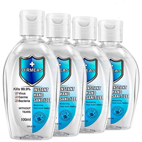 O'RMEAS Non-wash Gel Hand Cleaner Quick-drying Hand Wash Gel 3.38...
