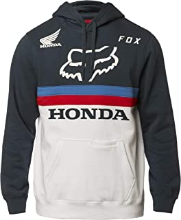 Fox Racing Honda Pullover Hoodie-Navy/White-XL
