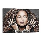 WANGDING Janet Jackson Poster, dekoratives Gemälde,