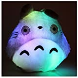 My Neighbor Totoro LED-Plüschkissen, mit 7 Farbmodi