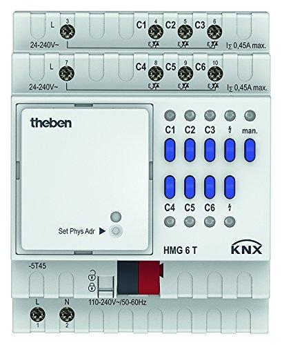 Preisvergleich Produktbild Theben 4930240 HMG 6 T KNX Heizungsaktor,  Grundgerät,  6 Kanäle