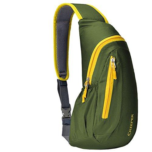 Sincere® Messenger sac / épaule poitrine sac / extérieur sac de sport d'équitation ArmyGreen 20L